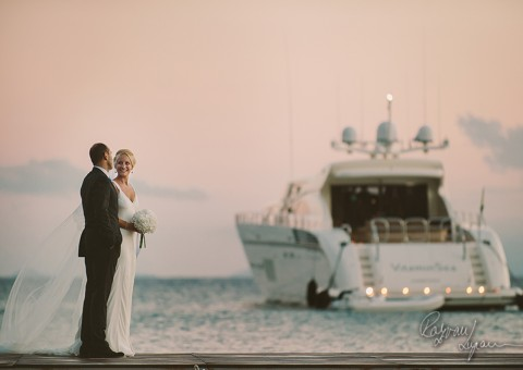Cecile and Naji wedding in Mykonos, Greece